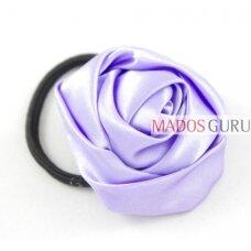 Gumelė plaukams su violetine gėle SP590