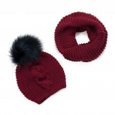 Kepurės ir movos komplektas MK15838B