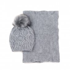 Kepurės ir movos komplektas MKCZ18809P
