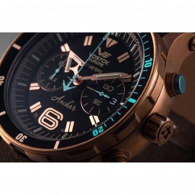 Laikrodis VOSTOK EUROPE ANCHAR CHRONO 6S21-510O586 3