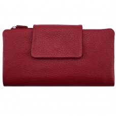 Piniginė GENUINE LEATHER 801RED