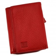 Piniginė GENUINE LEATHER 811RED