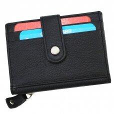 Piniginė-kortelių dėklas CC114BLK