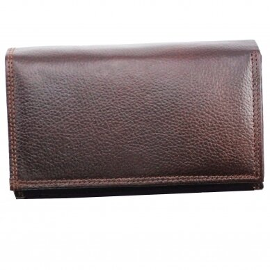 Piniginė GENUINE LEATHER 536BRN