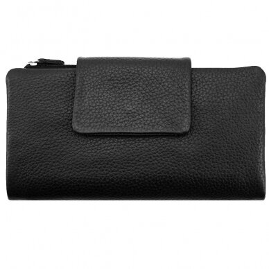 Piniginė GENUINE LEATHER 801BLK