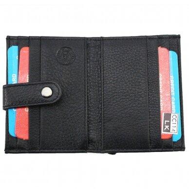 Piniginė-kortelių dėklas CC114BLK 3